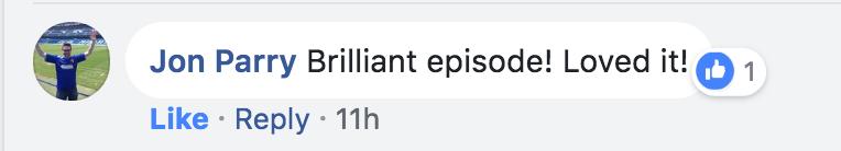 Brilliant episode