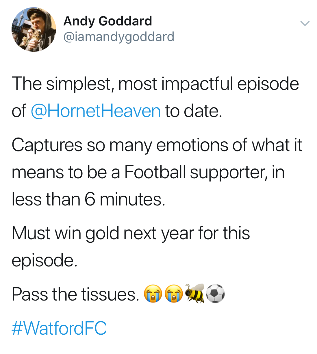 Must win gold